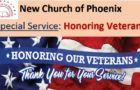 Special Service – Honoring Veterans